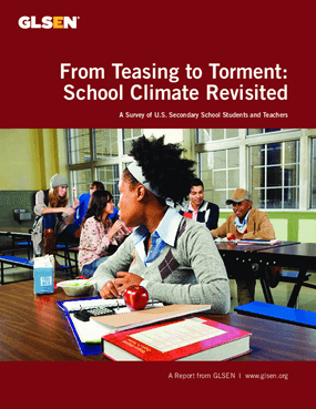 From Teasing to Torment: School Climate Revisited - A Survey of U.S. Secondary School Students and Teachers