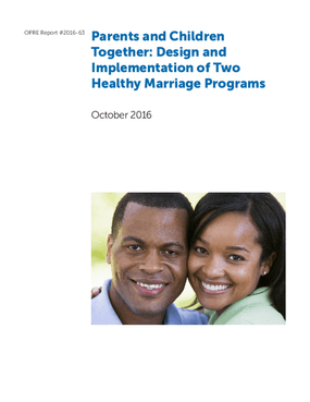 Parents and Children Together: Design and Implementation of Two Healthy Marriage Programs