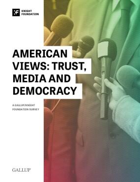American Views: Trust, Media and Democracy