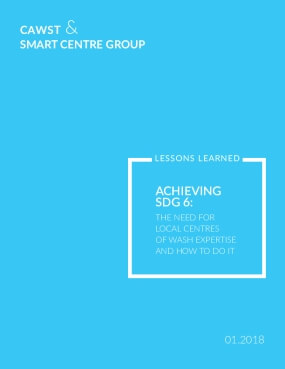 Achieving SDG 6: The Need for Local Centres of WASH Expertise and How to Do It