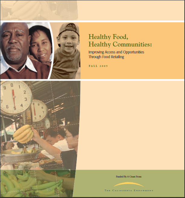 Healthy Food, Healthy Communities