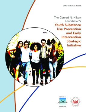 Substance Use Prevention Initiative, 2017 Evaluation Report, Year 3